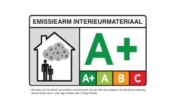 emissiearm interieur materiaal